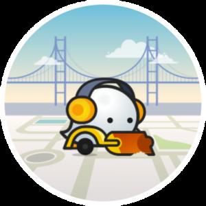 Pictogramme d'éditeur Waze de niveau 3 - L3
