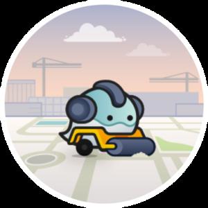 Pictogramme d'éditeur Waze de niveau 4 - L4
